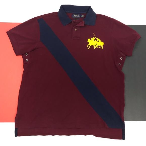 41ea199443f Polo Ralph Lauren Big Pony Crest Rugby Polo Shirt.  M_5c47e0b5534ef9cd9821626c